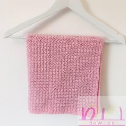 Powder Pink blanket