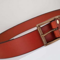 The Webburn Handmade Leather Belt.