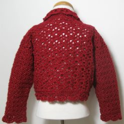 Red Sparkles Cardigan by SerendipityGDDs, For Age 4/5 1