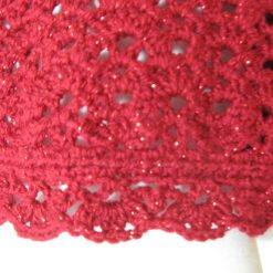 Red Sparkles Cardigan by SerendipityGDDs, For Age 4/5 5