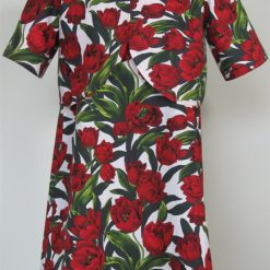 Red Tulips, Dress & Jacket by SerendipityGDDs, For Age 7 1