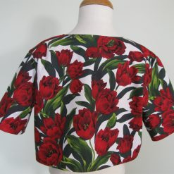 Red Tulips, Dress & Jacket by SerendipityGDDs, For Age 7 2