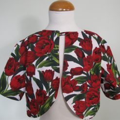 Red Tulips, Dress & Jacket by SerendipityGDDs, For Age 7 3