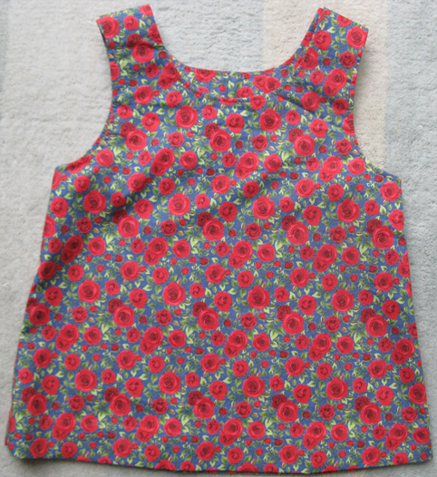 Rose Print Tunic Top by SerendipityGDDs, For Age 2