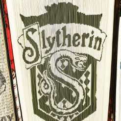 Slytherin book fold