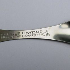 Personalised Stainless Steel Spork for camping, hiking, survival, picnics