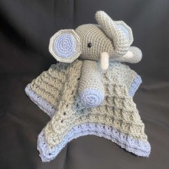 Elephant Security | Lovey Blanket