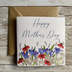Floral Mothers Day / Mothering Sunday Card