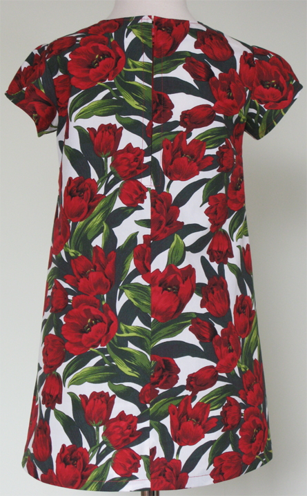 Tulips Dress by SerendipityGDDs, Springtime Fashion, For Age 3