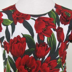 Red Tulips, Dress & Jacket by SerendipityGDDs, For Age 7 4