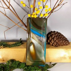 Wall Hanging Glass Vase #1