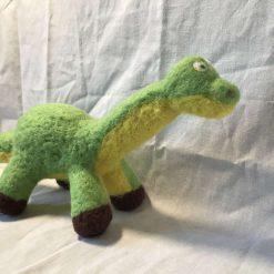 Felted dinosaur