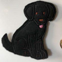 Felt Fridge magnet -  Dog Breed - Made To Order