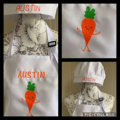 Personalised Embroidered BBQ Apron
