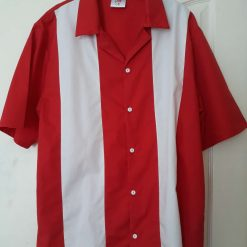 Bowling shirt size large