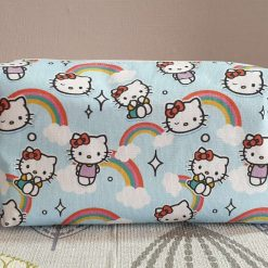 Hello Kitty Double Lined Box Make Up Bag