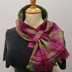 Neck Scarf, Neck Warmer, Heather Isles Scottish Tartan
