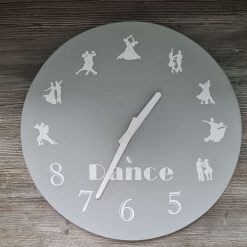 Handmade ballroom dance clock