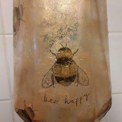 Bee Happy Decorative Items- Large Vase