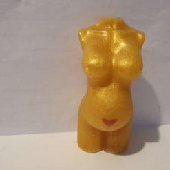 Pregnant Golden Goddess