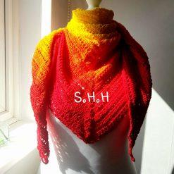 Phoenix shawl