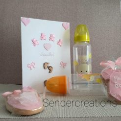 New Arrival Baby Girl Card, Baby Cards (4)