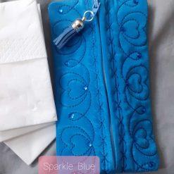 Deep Blue Tissue /Wetwipe sachet