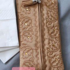 Leafy Gold Tissue /Wetwipe sachet