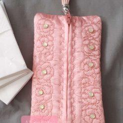 Peachy Tissue /Wetwipe sachet