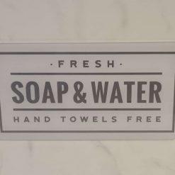 Acrylic Bathroom sign