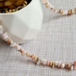 A beautiful pink opal necklace 4