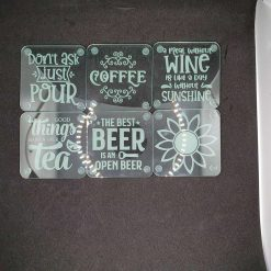 Acrylic or Slate Coasters 4