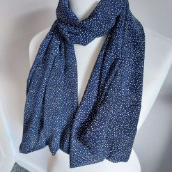 Very Pretty Handmade Lightweight Scarf, Wrap, Shawl, Scarves, Gift, Letter Box Gift