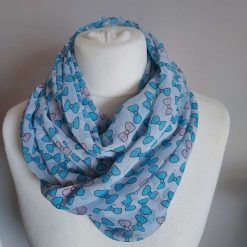 Very Pretty Handmade Infinity Lightweight Scarf, Wrap, Shawl, Scarves, Gift, Letter Box Gift