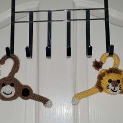 Made to order decorated children coat hangers
