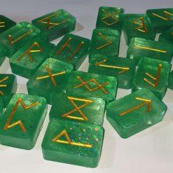 24 Resin Runes