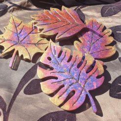 Leaf coaster set