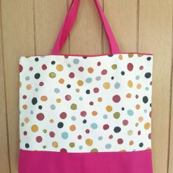 Lined Cotton Tote Bag