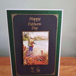 Fathers Day Decoupage Greetings Card