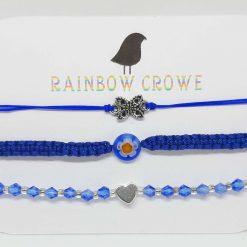 Blue Bracelet Set