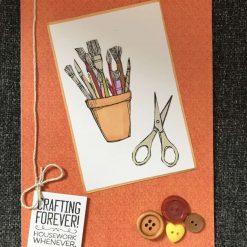 Crafting forever card