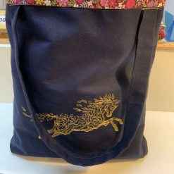 Botanical Equine tote bag
