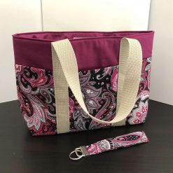 Stylish Tote Bag with Pockets
