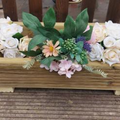 50 x 30 cm Wooden Decking Planter/window Box/trough/garden/herb/flower