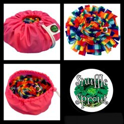 Snuffle Sprout Snuffle Mat Sniff the Rainbow Pink 🌈