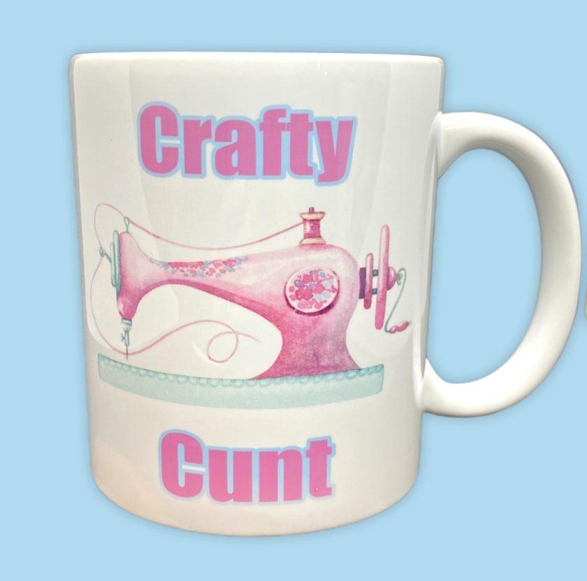 Crafty Cunt 11oz Mug / Cup