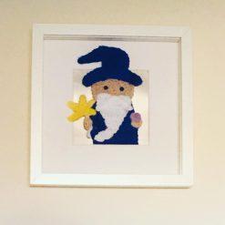'Magic' the Wizard Box Frame Art