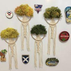 Tree of life macrame dream catcher fridge magnets (free p&p)
