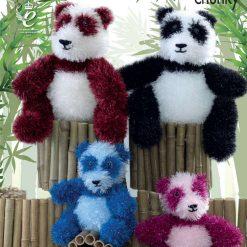 King Cole - Knitting Pattern - Pandas