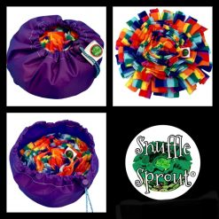 Snuffle Sprout®️ Snuffle Mat Sniff the Rainbow Purple 🌈